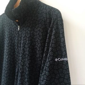 COLUMBIA Lightweight Geometric Fleece 1/2 Zip